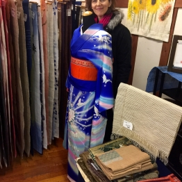 vintage fabric and kimono shop